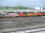 BNSF 540 and 539
