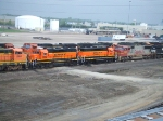 BNSF 2662 and 2665