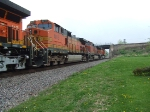 BNSF 4015 and 5187