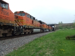 BNSF 5085 and 5119