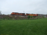BNSF 982 and 4939