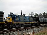 CSX 5529 with hatch open
