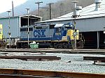CSX 6070 in the yard