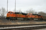BNSF 9146 waits for the signal