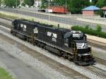 NS EMD SD40-E's 6322 & 6302
