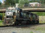 NS EMD SD40-E's 6302 & 6322