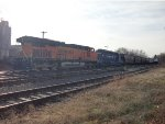 BNSF 7557 & Pan Am(MEC) 605