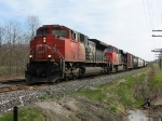 CN 8825 at Mile 260 Kingston Sub.