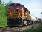 BNSF Northbound mixed freight