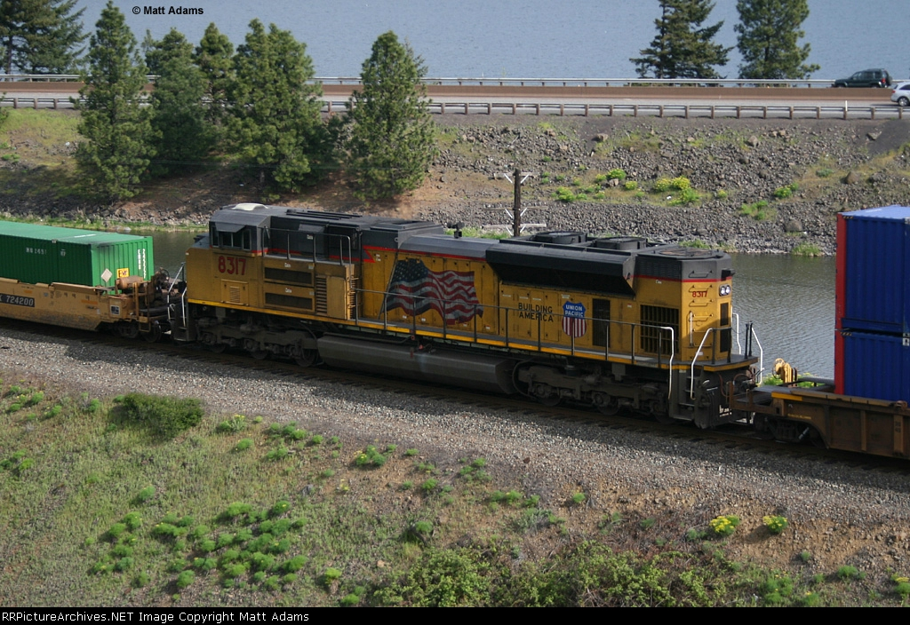 UP SD70ACe 8317 - KPDG2 DPU
