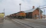 BNSF 4014 WB