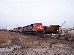 CN southbound on the WC