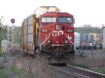 CP 8502 at Cobourg as the rear slave.