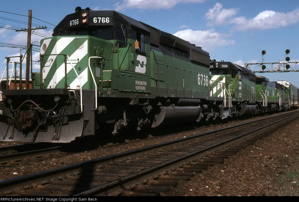 BN 6766, 7012, 4025, and 6326