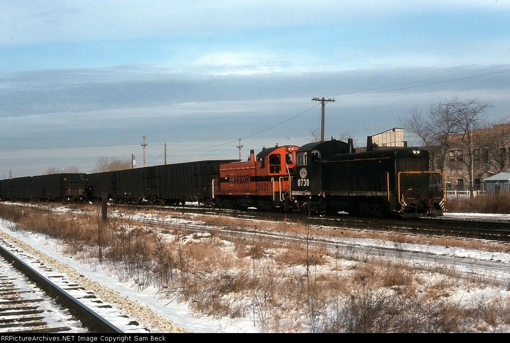 IHB 8730 and 8831 with NORX Coal