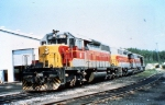 Algoma Central (AC) 186--SD40-2