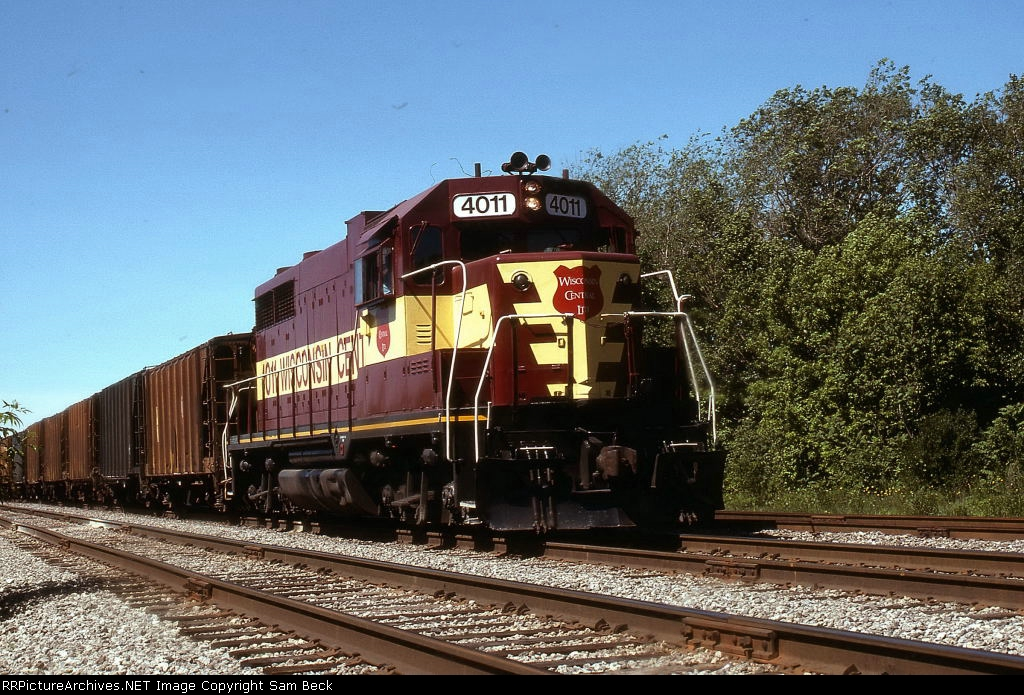 WC 4011 on the Rock Island