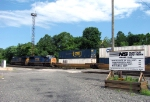 CSX Q190 at Abrams Yard