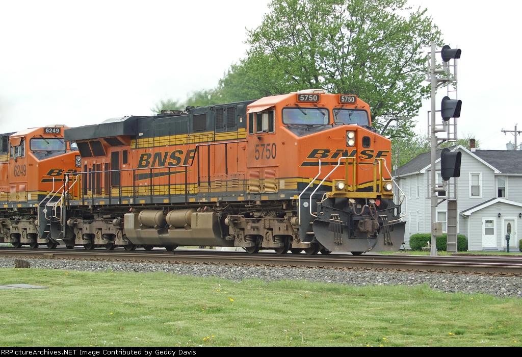BNSF Powder River Coal Train
