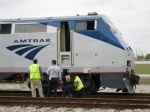 Amtrak Inspection Train relief crew