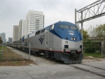 FEC Amtrak Inspection Train P240