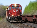 CP 4656 at Spicer with a CWR train.