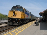 VIA 6404 at Cobourg with 57.