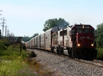 Lead by consecutively numbered SOO SD60's, one of the last X500's on CSX heads east out of town