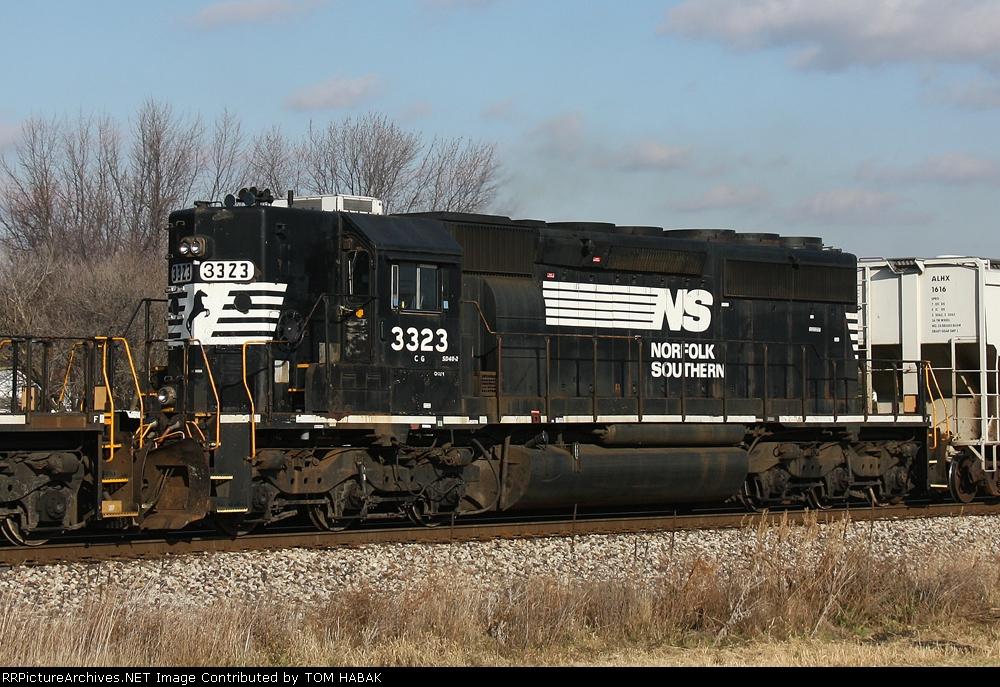 NS 3323 on NS 303