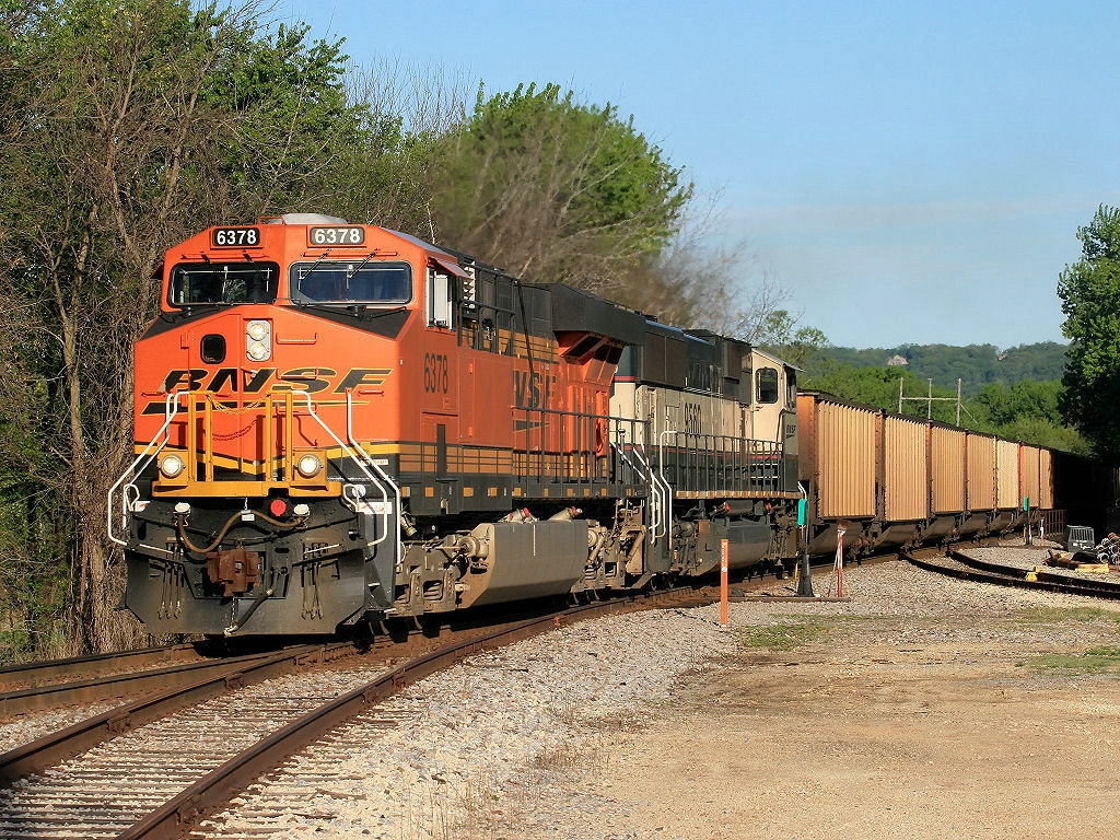 BNSF 6378