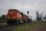 BNSF 6015 northbound ore empties