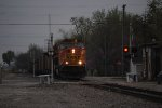 BNSF 8861 loaded coal southbound