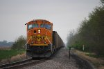 BNSF 8901 push power