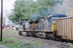 Pass by CSX 576 and CSX 553