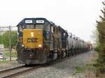 With just enough horsepower for the tonnage, CSX 2700 leads D700-28 east