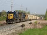 CSX 8547 & 8745 leading Q334 east