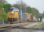 CSX 926 climbs the hill with Q334-04