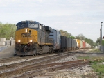 Nearing Seymour, 926 leads Q334-04's 34 cars east