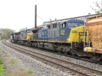 CSX 508 following behind 55 & 562