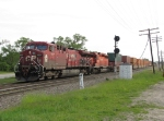 CP 9507 & 5919 rolls through the Ivanrest signals with X500-19R