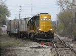WAMX 3531 brings Z739 off the GRE back onto CSX tracks just south of Fuller
