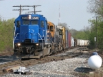 Coming out of the Grand Rapids Yard Limits, GMTX 2648 leads Z151-15 south