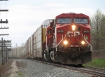 CP 8559 & 6055 make track speed east with just 18 cars on X500-16