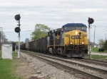 N900-15 passes Ivanrest with coal loads for West Olive
