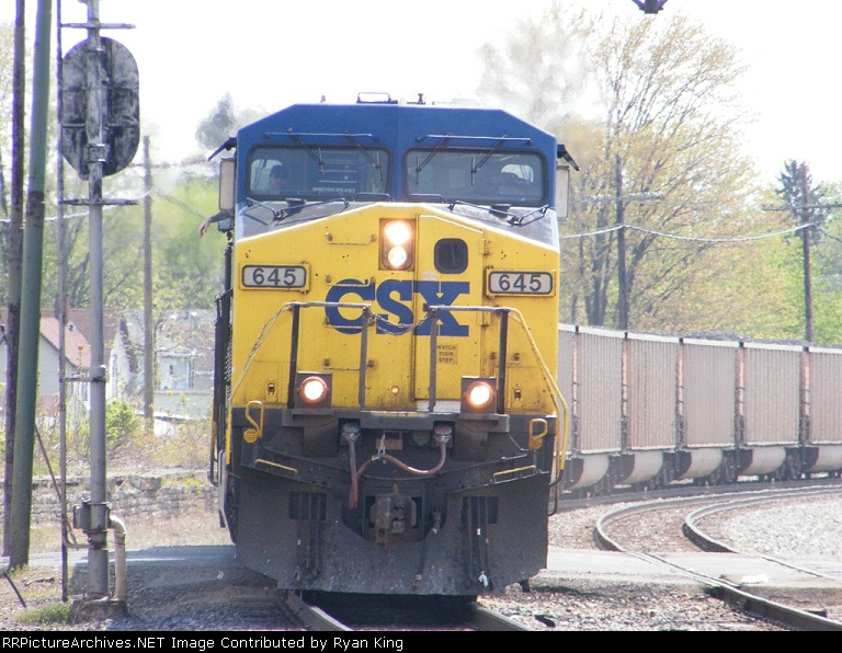 CSXT 645