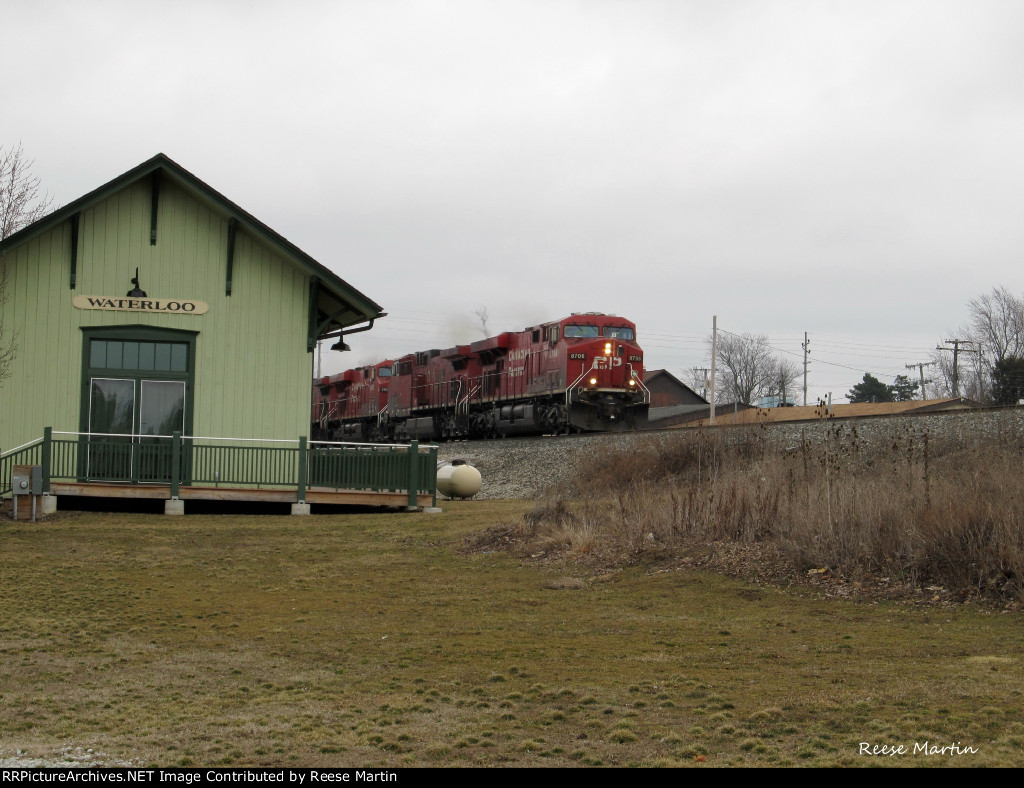 Passing the old Waterloo Depot