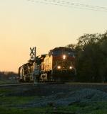 BNSF at Sundown