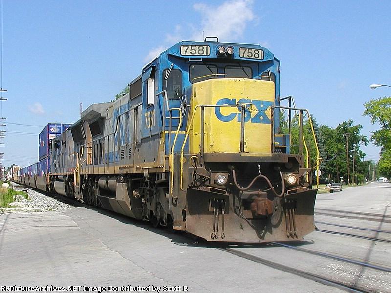 CSX 7581 Q164