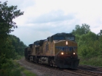UP 5868 westbound coal hoppers