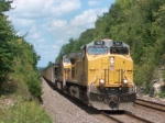 UP 7167 eastbound coal loads